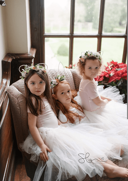 tulle tutu flower girl skirts uk