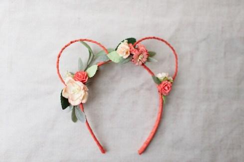 bridesmaid flower headband