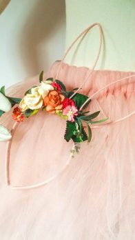 floral bridesmaid head band