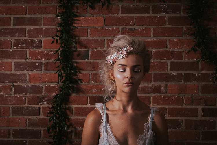 bridal boudoir photo