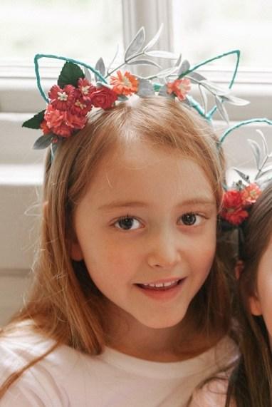 bridesmaid floral headband