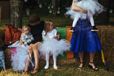 Lux Tulle Tutu Flower Girl Skirts – A little bit of Magic at a London Wedding