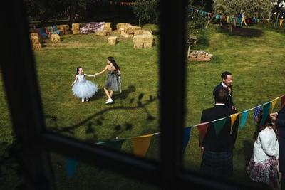 bridesmaid skirt grey