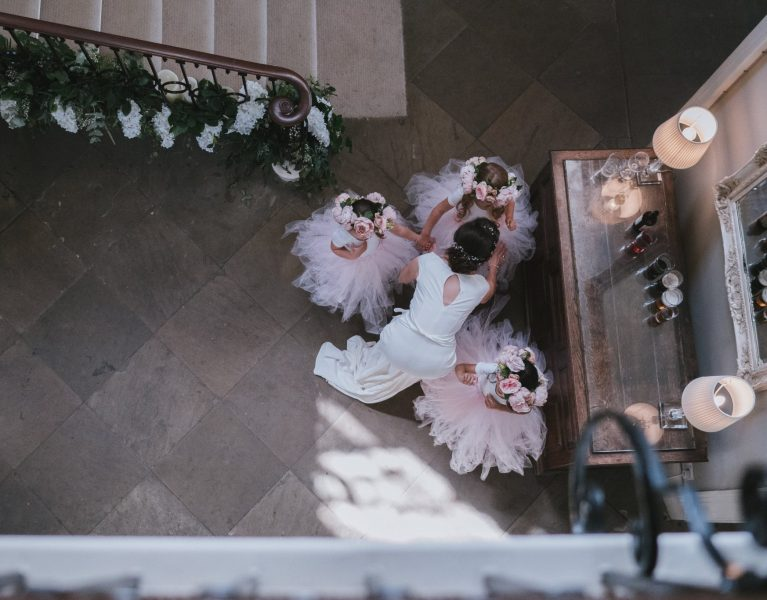 Flower Girl Skirts, Real Wedding Images