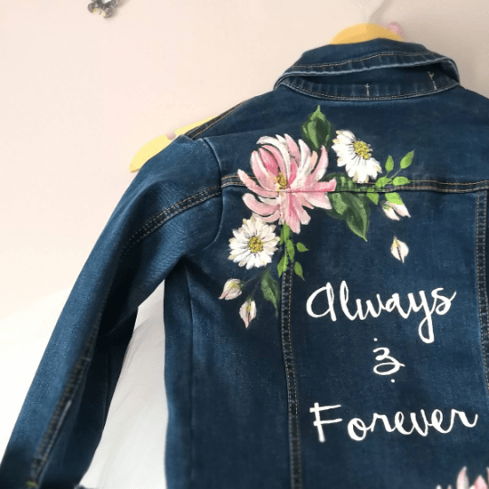 wifey jacket, the Mrs Denim