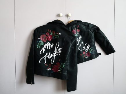 Painted wedding jackets UK