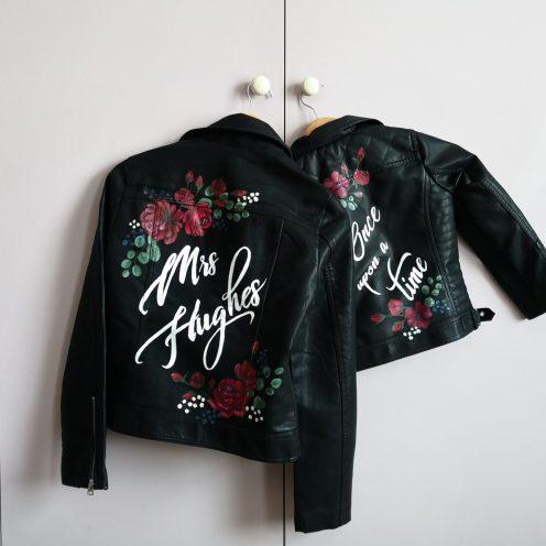 Painted wedding jackets UK
