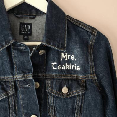 Mrs Jacket Painting