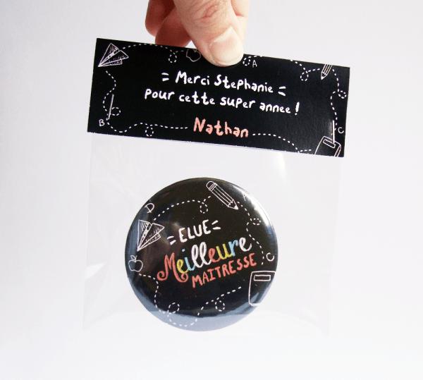 Magnet cadeau de fin d'année pour Maîtresse, Maître ou ATSEM