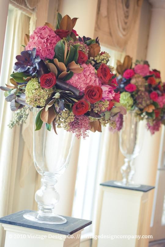 Wedding Flowers Altar Flowers For A Wedding
