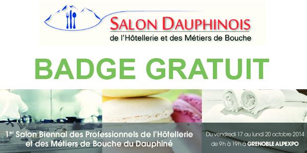 Min de Grenoble  J1  1er SALON DAUPHINOIS de lHtellerie et des Mtiers de bouche de