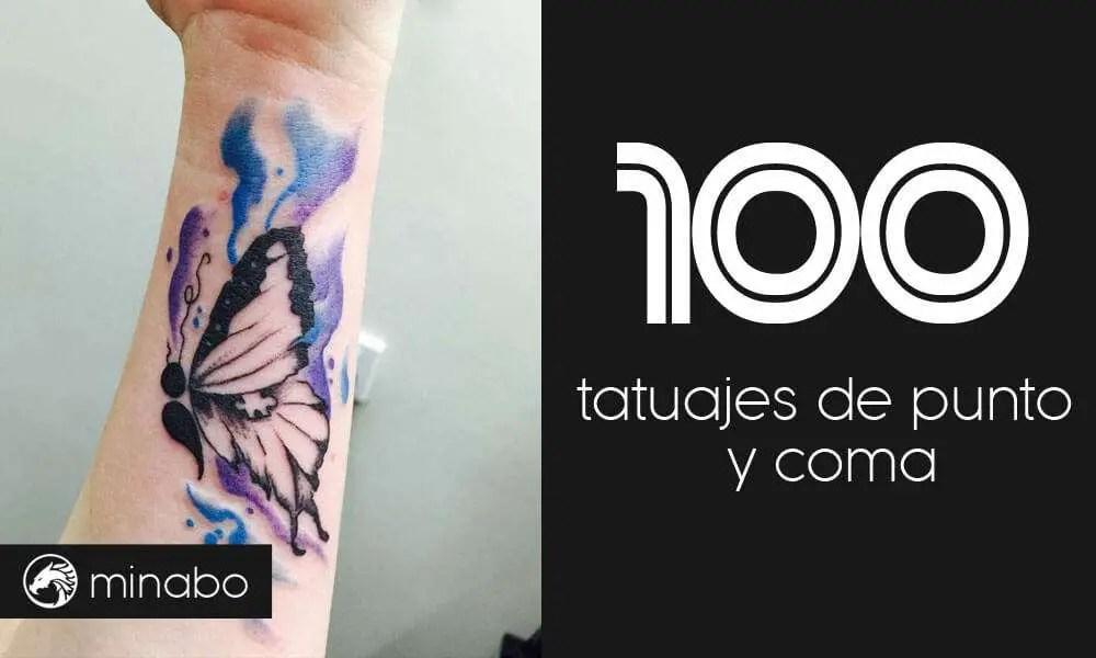 Wow Los 100 Mejores Tatuajes De Punto Y Coma