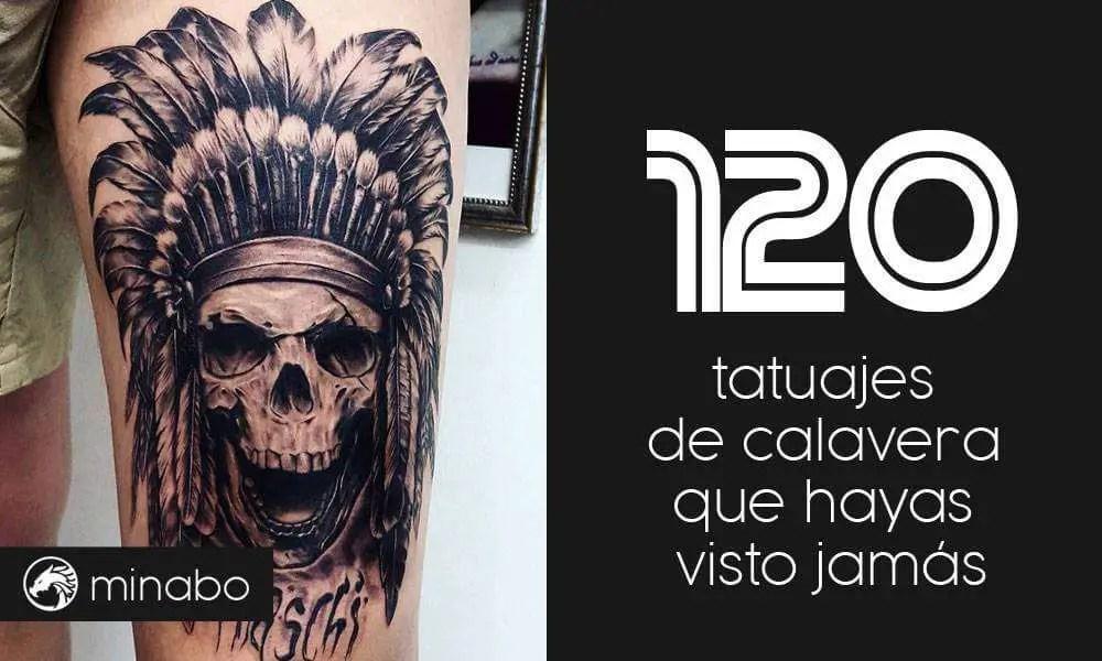 Wow Los 120 Mejores Tatuajes De Calavera Que Hayas Visto Jamás