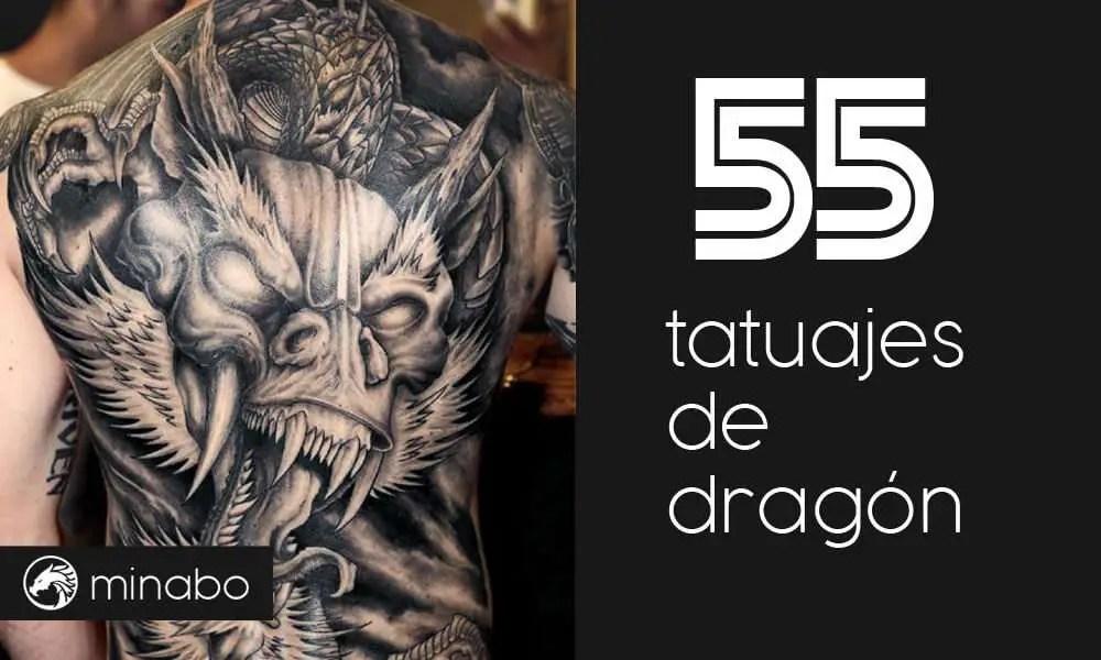 Wow Los 55 Mejores Diseños De Tatuajes De Dragón