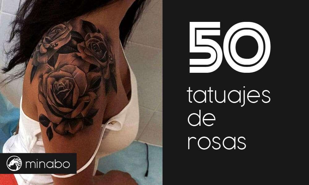 Wow Los 50 Mejores Tatuajes De Rosas Y Sus Significados
