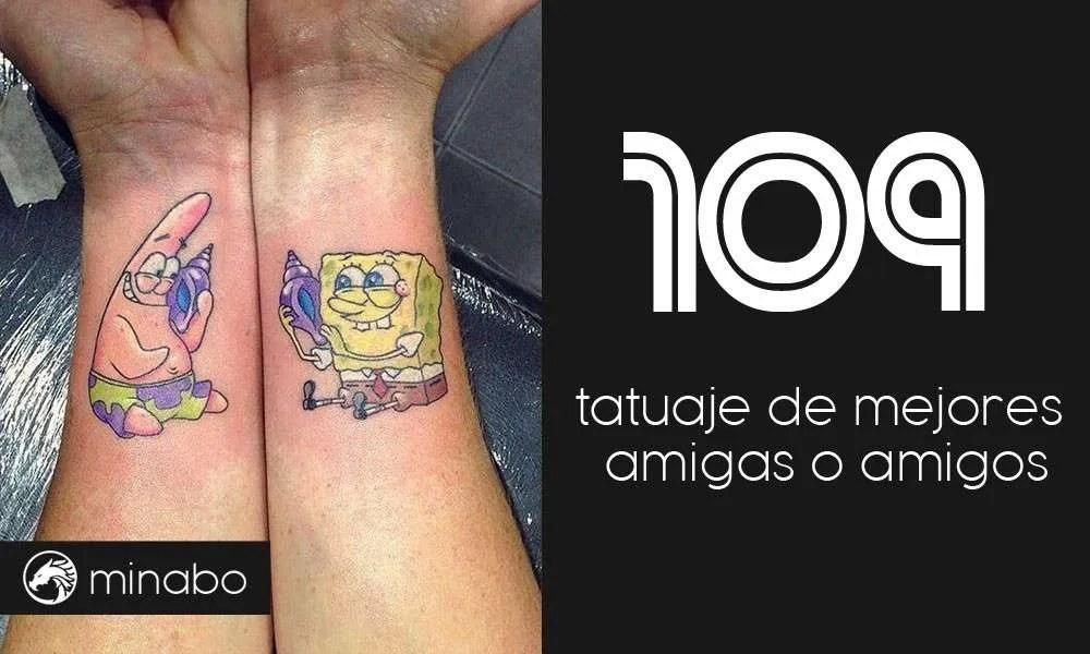 Wow 109 Ideas Originales Tatuaje De Mejores Amigas O Amigos
