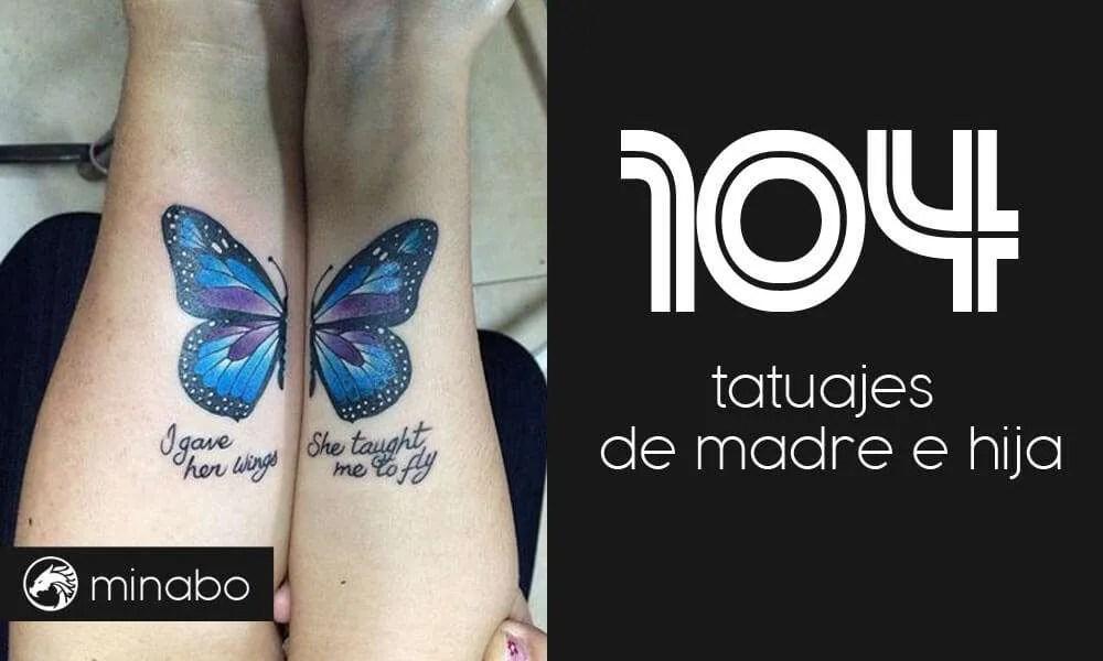 Wow 104 Buenas Ideas Para Un Tatuaje De Madre E Hija