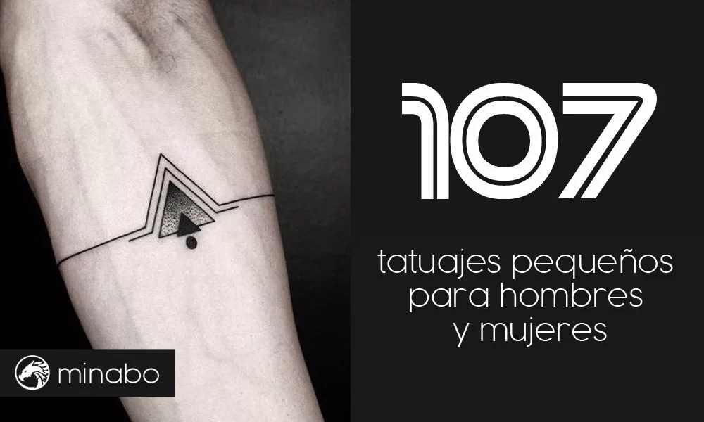 Wow 107 Buenas Ideas De Tatuajes Pequeños Hombres Y Mujeres
