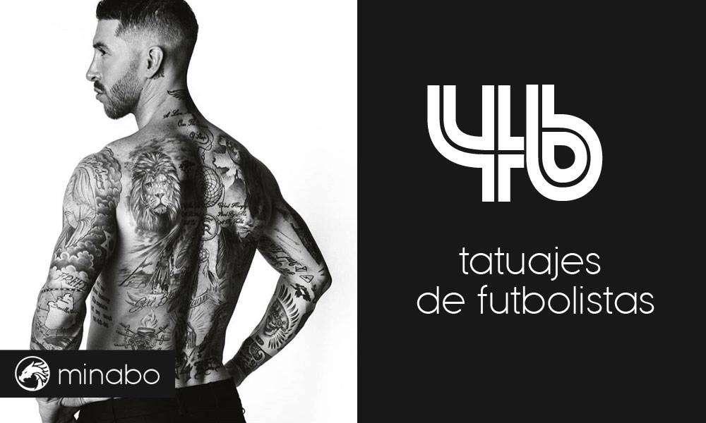 Wow 46 Increíbles Tatuajes De Futbolistas Míralos Aquí Ahora
