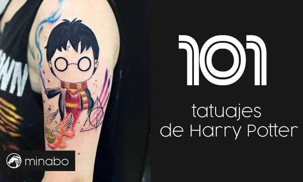 Wow 101 Tatuajes De Harry Potter Entra Ahora Y Míralos