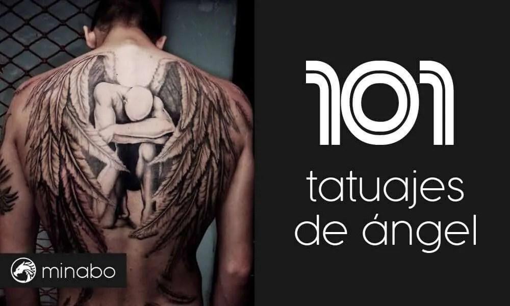 101 Tatuajes De Angel En Estupendas Fotos Entra Ahora
