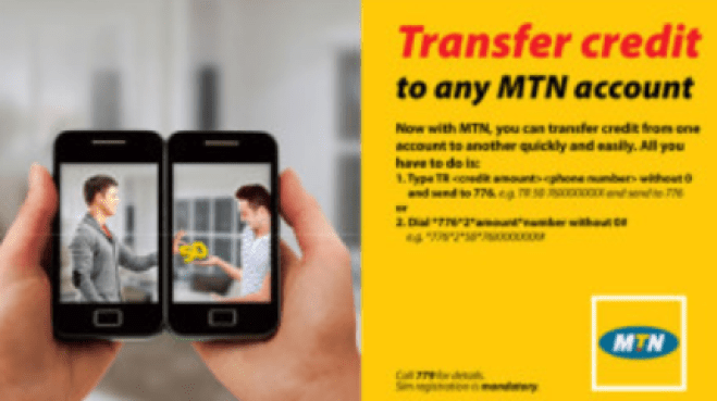 How to Transfer Airtime via Share & Sell-MTN Share & Sell