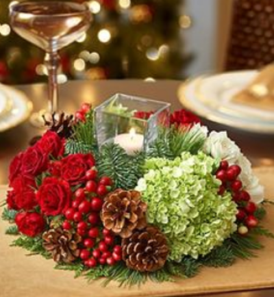 See Best Contemporary Christmas Flower