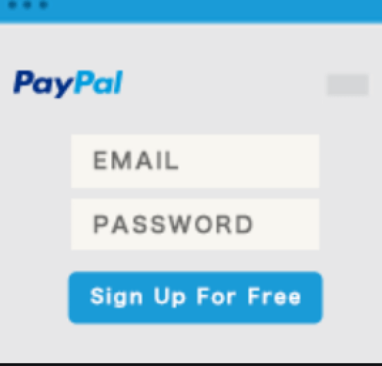 PayPal Login Page