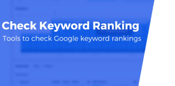 Check Google Keyword Rankings