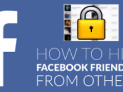 Hide Facebook Friends – How Do I Hide Myself from Facebook Users?