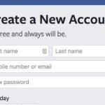 Create Facebook Account – How to Create Facebook Account Using Mobile Number