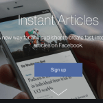 Instant Articles on Facebook  –  Facebook Instant Article,Facebook Blogging