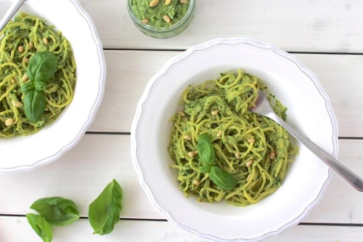 Pesto Pasta vegan