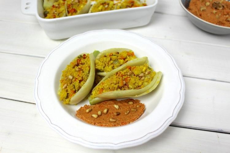 Quinoa Fenchelschiffchen Muhamarra