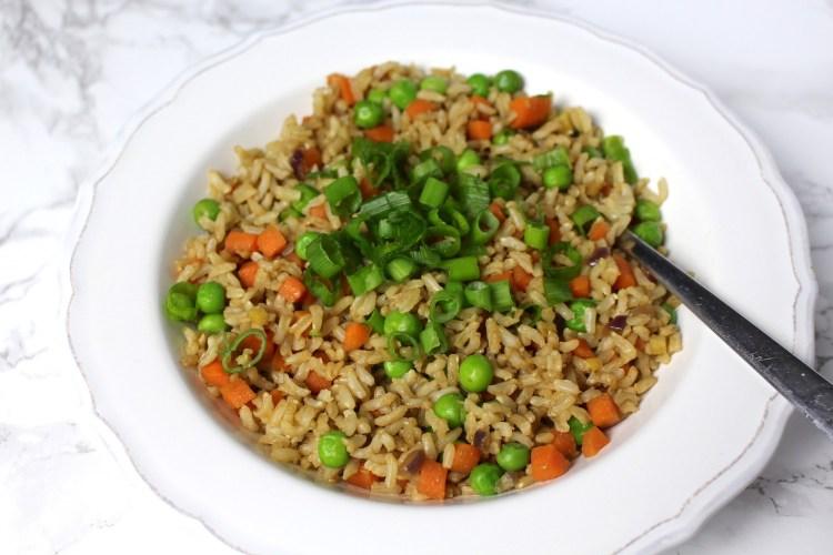 Fried Rice vegan vegetables