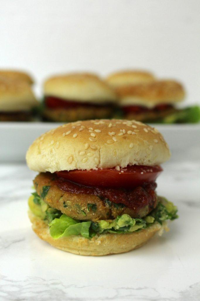 Mini Falafel Burger vegan Fingerfood