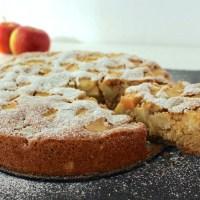 Apfelkuchen vegan apple pie