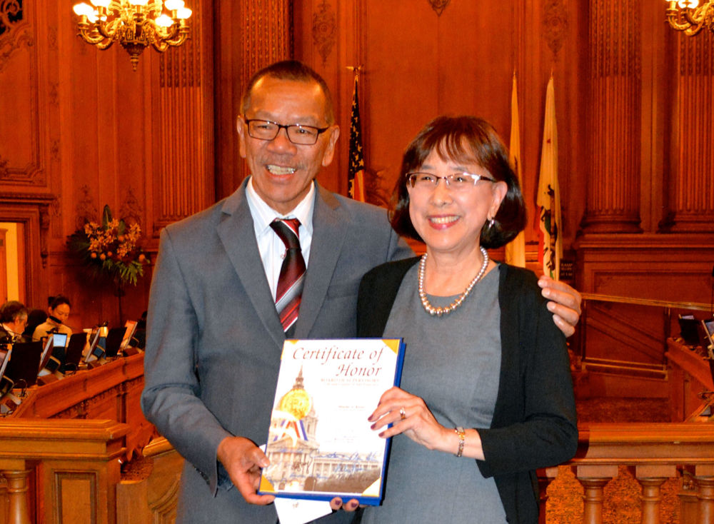 Minette Kwok Honored by SF Supervisor Norman Yee as Part of Asian Pacific American Heritage Month