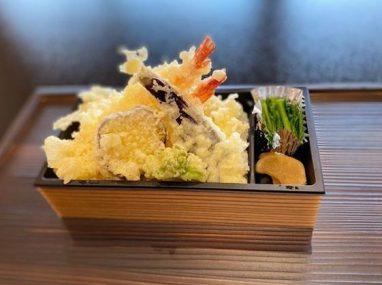 海老天丼800円