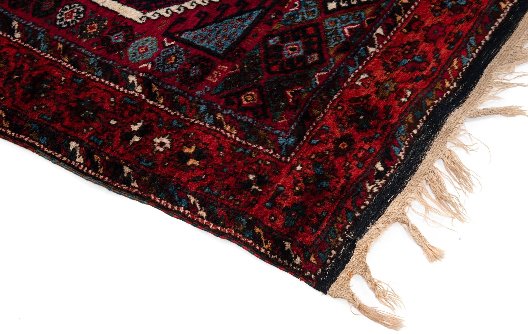 Antique Turkish Yoruk Long Rug 46114