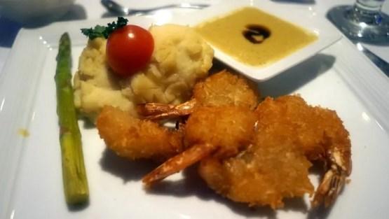 Coconut Shrimp at Red Parrot Restaurant - Divi Aruba
