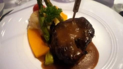 Beef Tenderloin at Red Parrot Restaurant - Divi Aruba