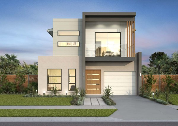 Double Storey Home Design 4 Bedroom Floor Plan Ridgewood