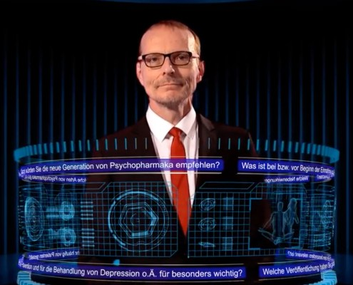 "Gerhard Gründer at ""Frag-den-Professor"""