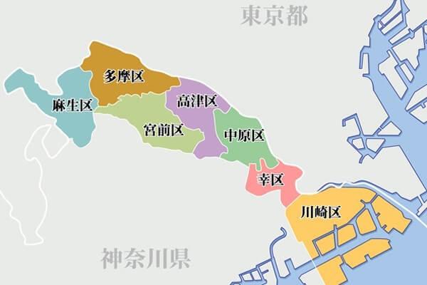 map-kawasaki