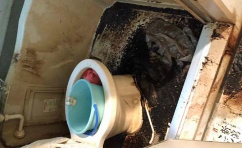 悪臭が染みついたユニットバスの特殊清掃(横浜市鶴見区)