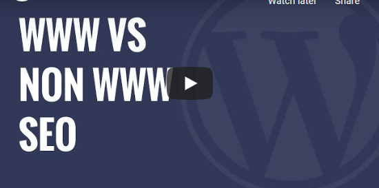 WWW vs non-WWW - Which is Better For WordPress SEO
