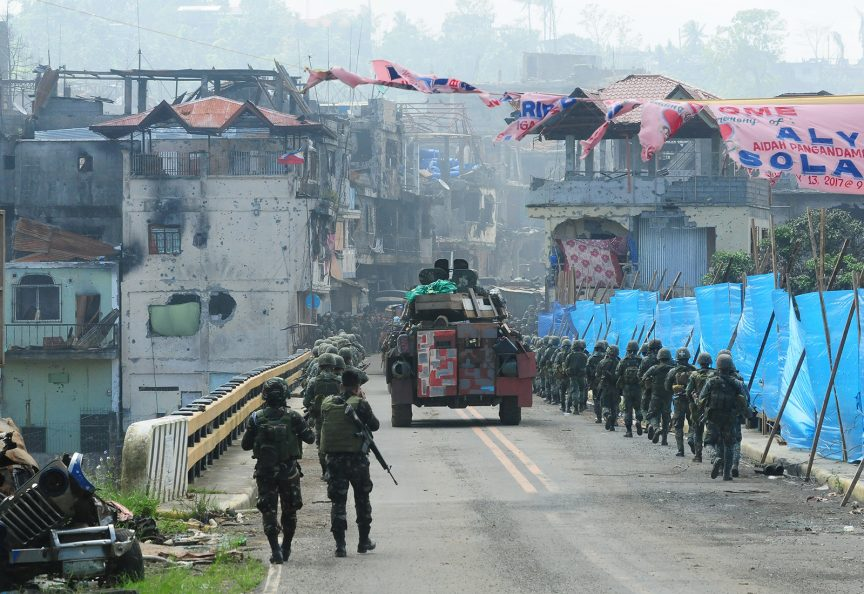 It's over; Marawi siege ends exactly five months later