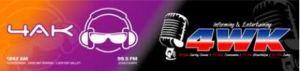 4WK radio logo