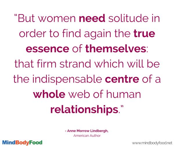 Women Need Solitude